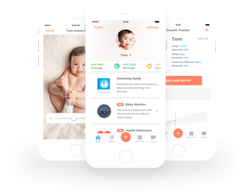 Baby Bundle Mobile App - Rocket Wagon