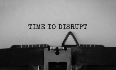 TIME TO DISRUPT