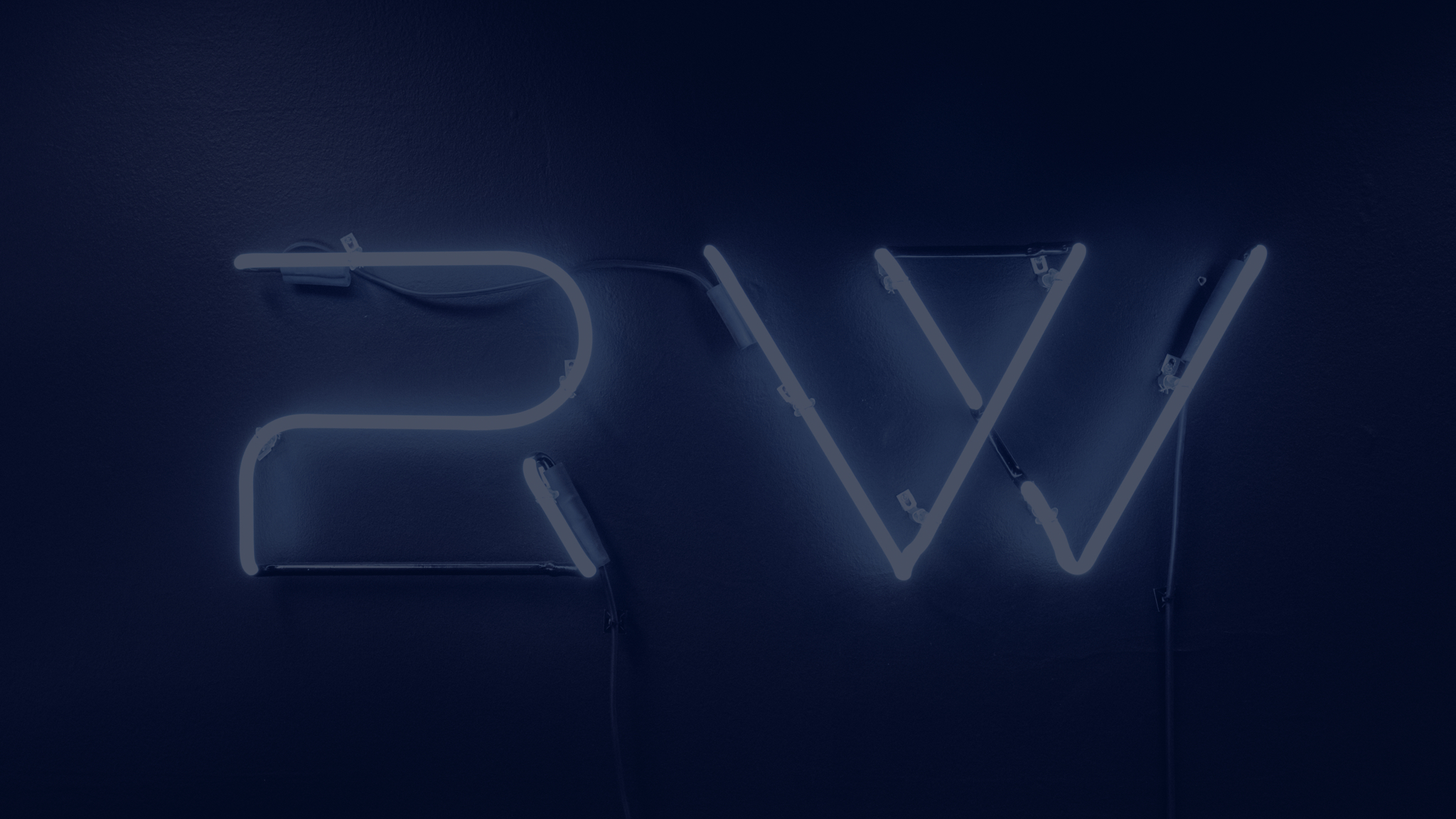Rocket Wagon neon logo